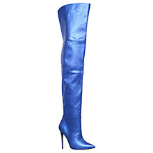 Buy Kurt Geiger Vita Over the Knee Boots Online at johnlewis.com