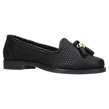 Buy Carvela Match Tassel Loafers, Black Online at johnlewis.com