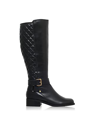 ded46273e296 Carvela Polished Block Heeled Knee High Boots