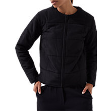 Buy Jigsaw Quilted Jacket Online at johnlewis.com