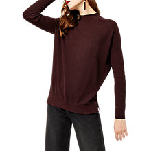 Buy Warehouse Boxy Funnel Neck Jumper Online at johnlewis.com