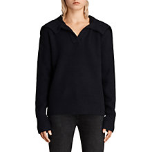 Buy AllSaints Codie Jumper, Ink Blue Online at johnlewis.com