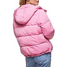 Buy Miss Selfridge Oversized Quilted Jacket Online at johnlewis.com