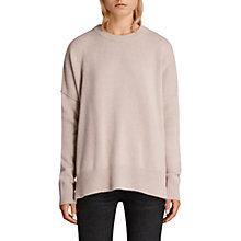 Buy AllSaints Dasha Cashmere Crew Neck Jumper Online at johnlewis.com