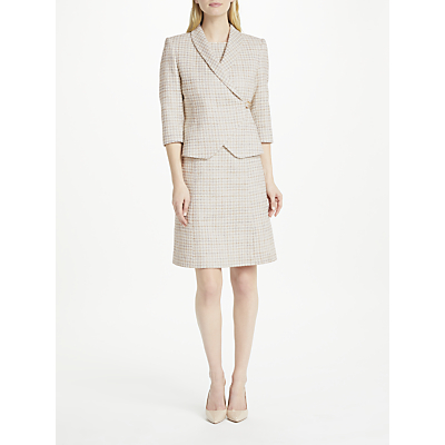 Bruce by Bruce Oldfield Tweed Wrap Jacket, Natural