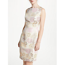 Buy Bruce by Bruce Oldfield Jacquard Shift Dress, Pink Online at johnlewis.com