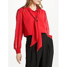 Buy Somerset by Alice Temperley Tie Pleat Sleeve Blouse Online at johnlewis.com