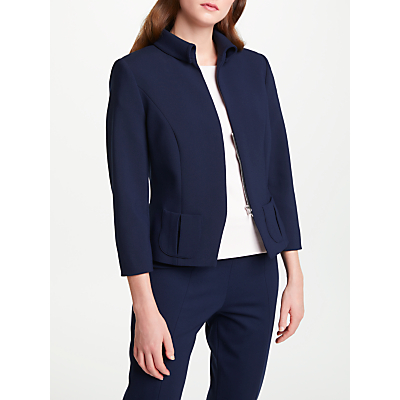 Bruce by Bruce Oldfield Short Fitted Jacket, Blue