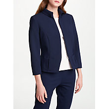 Buy Bruce by Bruce Oldfield Short Fitted Jacket, Blue Online at johnlewis.com