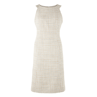 Bruce by Bruce Oldfield Tweed Fit and Flare Dress, Natural