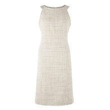 Buy Bruce by Bruce Oldfield Tweed Fit and Flare Dress, Natural Online at johnlewis.com