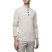 Buy Reiss Mount Knit Jumper, Tusk Online at johnlewis.com