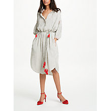 Buy AND/OR Stripe Shirt Dress, Multi Online at johnlewis.com