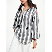 Buy AND/OR Long Sleeve Embroidery Shirt, Multi Online at johnlewis.com