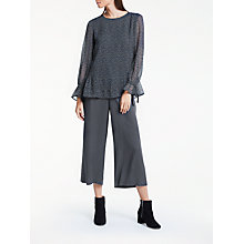 Buy Great Plains Damari Dot Blouse, Onyx Black/Multi Online at johnlewis.com