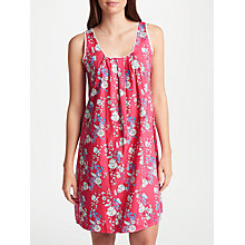 Buy Cyberjammies Polly Floral Print Chemise, Pink/Multi Online at johnlewis.com