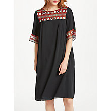 Buy Somerset by Alice Temperley Embroidered Circles Tunic Dress, Black Online at johnlewis.com