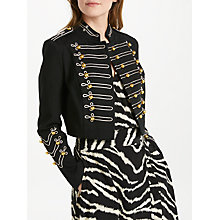 Buy Somerset by Alice Temperley Military Jacket, Black Online at johnlewis.com
