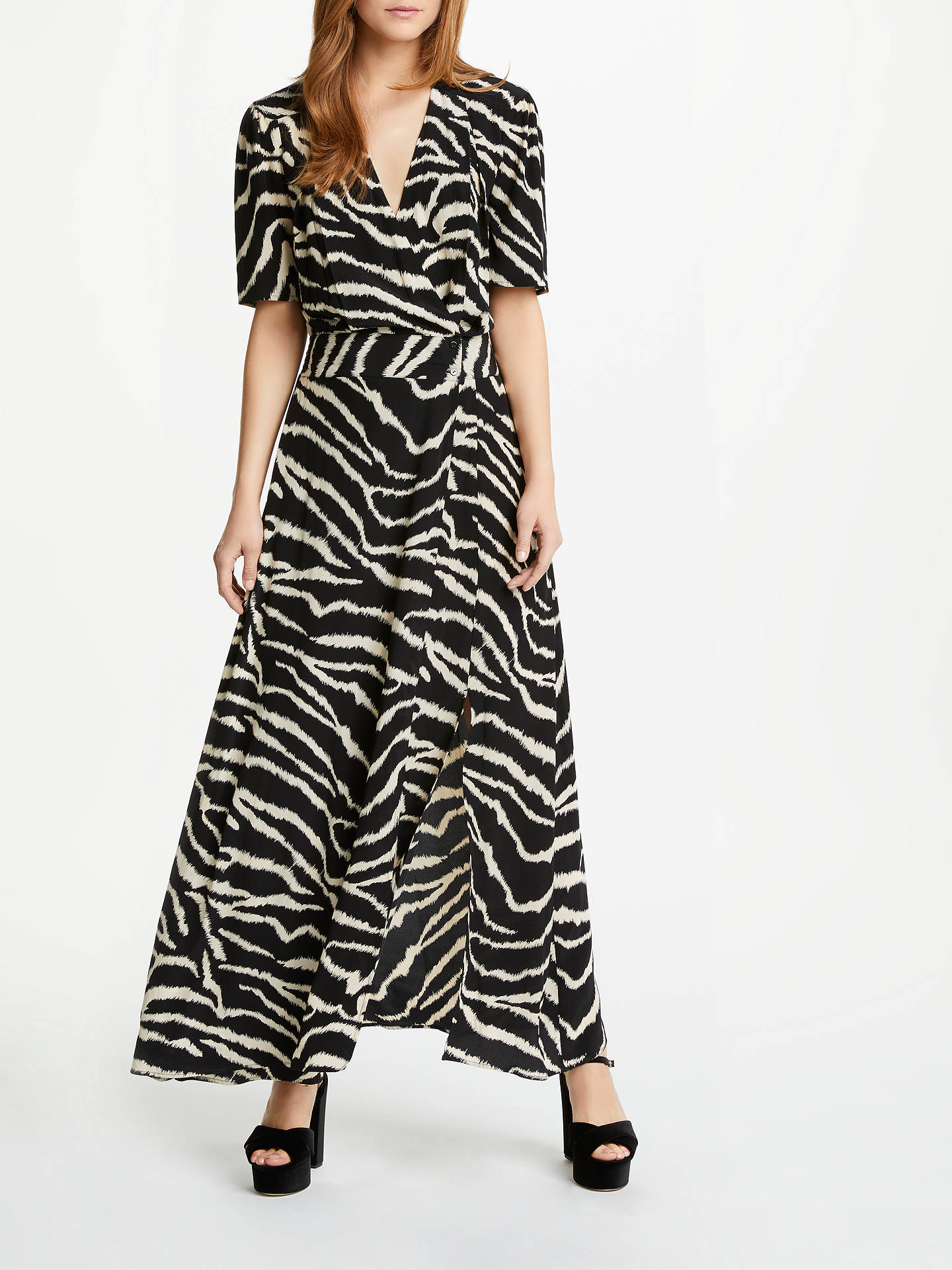 63bb455c01a Buy Somerset by Alice Temperley Zebra Print Wrap Maxi Dress