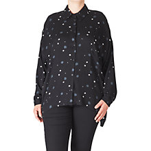 Buy ADIA Printed Shirt, Black Online at johnlewis.com