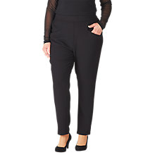 Buy ADIA Tailored Trousers, Black Online at johnlewis.com