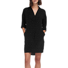 Buy Whistles Lola Fleck Dress, Black Online at johnlewis.com