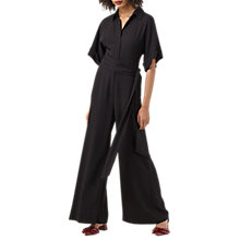 Buy Finery Meadow Tie Waist Jumpsuit, Black Online at johnlewis.com