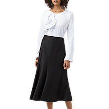 Buy Finery Baroda Panelled Skirt, Black Online at johnlewis.com