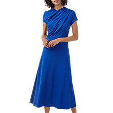 Buy Finery Pentonville Twist Front Maxi Dress, Bright Blue Online at johnlewis.com