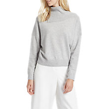 Buy Jaeger Cashmere Cropped Split Cowl Neck Jumper Online at johnlewis.com