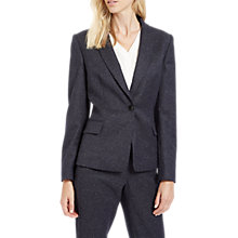 Buy Jaeger Donegal Slim Fit Jacket, Navy/Ivory Online at johnlewis.com