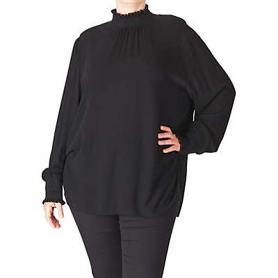 Product photo of Adia long sleeve blouse black