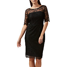 Buy Sugarhill Boutique Grace Lace Knee Length Dress, Black Online at johnlewis.com