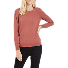 Buy Jaeger Cashmere Crew, Masala Online at johnlewis.com