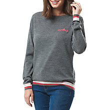 Buy Sugarhill Boutique Brooke Darling Merino Wool Jumper, Grey/Multi Online at johnlewis.com