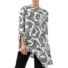Buy Finery Carlos Zebra Flame Top, Multi Online at johnlewis.com