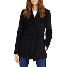 Buy Phase Eight Nicci Short Belted Coat, Navy Online at johnlewis.com