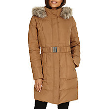 Buy Phase Eight Kalyn Puffer Jacket, Tan Online at johnlewis.com
