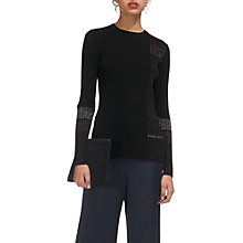 Buy Whistles Ali Rib Knit Jumper, Multi Online at johnlewis.com