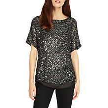 Buy Phase Eight Sequin Macey Knit Top Online at johnlewis.com