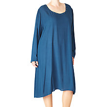 Buy ADIA Draped Stud Detail Dress, Lake Blue Online at johnlewis.com