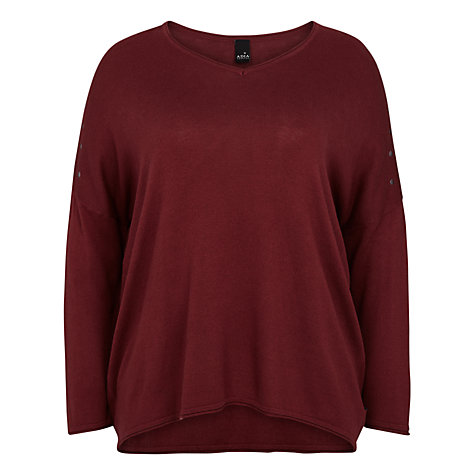 Buy ADIA Pullover, Merlot Online at johnlewis.com