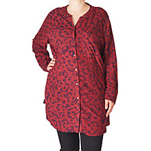 Buy ADIA Printed Shirt, Merlot Online at johnlewis.com