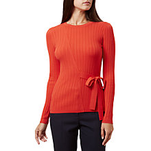 Buy Hobbs Tia Jumper, Red Online at johnlewis.com