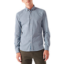 Buy Jigsaw Italian Melange Flannel Shirt Online at johnlewis.com