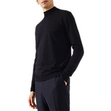 Buy Jigsaw Fine Merino Wool Mock Neck Knitted Jumper Online at johnlewis.com