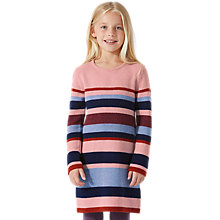 Buy Jigsaw Girls' Knit Tunic Dress, Multi Online at johnlewis.com