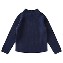 Buy Jigsaw Girls' Cosy Ribbed Jumper Online at johnlewis.com
