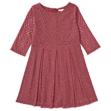 Buy Jigsaw Girls' Chevron Dress Online at johnlewis.com