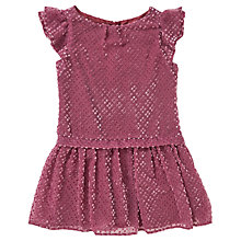 Buy Jigsaw Girls' Velvet Spot Party Dress Online at johnlewis.com